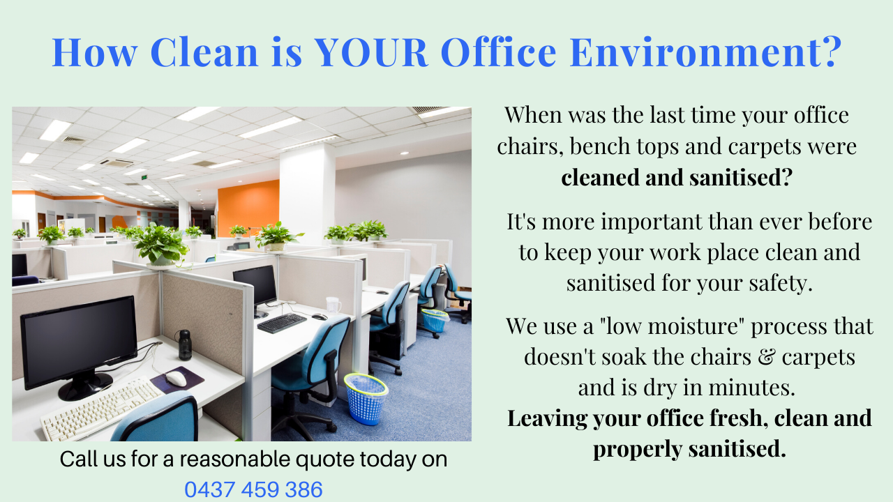How clean is your Office Environment